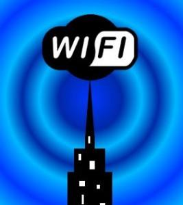 WiFi radio waves