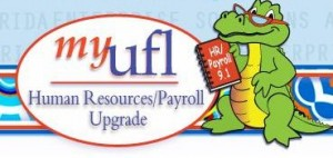MyUFL Human Resources/ Payroll upgrade