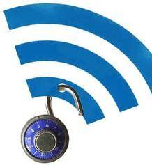 wi-fi bands w/ a lock on them