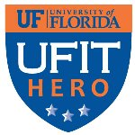 University of Florida IT Hero logo