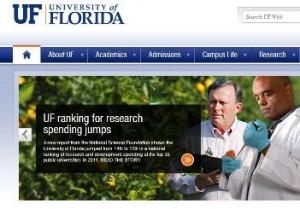 UF Homepage Lead Story Image Dec 2012