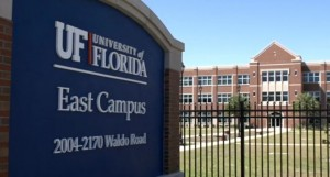 View of UF's East Campus
