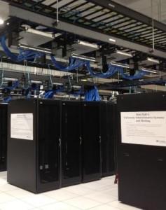 Racks of Servers for Hosting