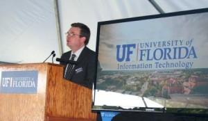 Dr. David Norton at UFDC Opening