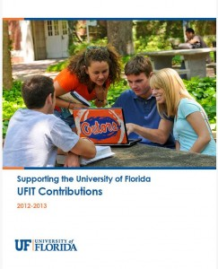 Cover of the 2012-2013 Contributions Report