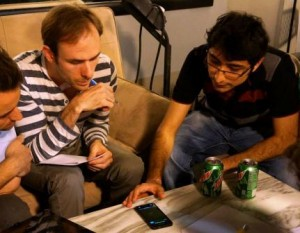 Participants in Spring Hackathon