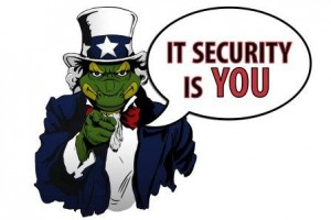 IT Security is You Graphic