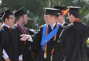 Students at Graduation May 2012