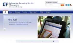 ITSM Webpage