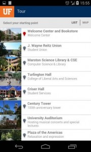 New-Look UF Tour App