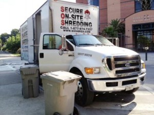 On-Site Electronic Media Disposal Service