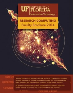 2014 Research Computing Faculty Brochure cover
