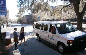 Students Getting Ride on SNAP Van