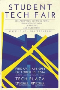 UF Student Tech Fair—October 10