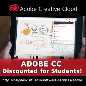 Adobe CC Discounted for Students