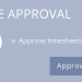 Time Approval Image in ONE.UF