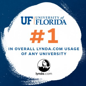 UF tops in usage of lynda.com