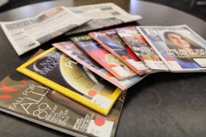 Image of magazines in Smathers Library