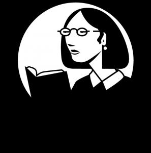 lynda.com black and white logo