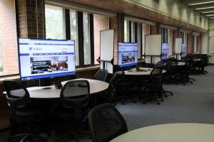Recently updated classroom in Norman Hall