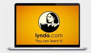 lynda image inside laptop