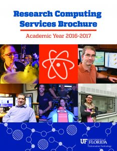 Research Computing Services brochure cover