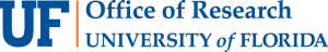 Official University of Florida wordmark for the Office of Research