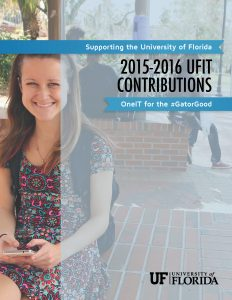 Image: Cover of the 2015-2016 Contributions Report Publication