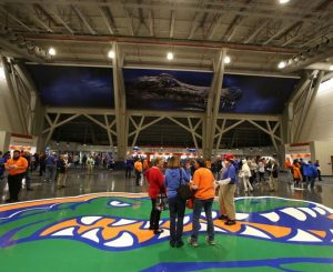 PHOTO: Dec. 21, 2016 - Opening Night of UF's Exactech Arena