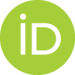 Graphic Image: Logo for the ORCiD, a persistent digital identifier for the research environment