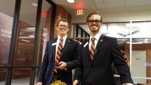 PHOTO: Students attending MADE@UF Open House event.