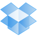 GRAPHIC: Blue Dropbox logo