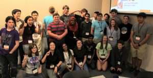 PHOTO: Group photo of 2017 Gator Computing Program student participants