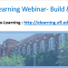 """SLIDE IMAGE: First slide of UFIT's """"Build & Design"""" webinar."""
