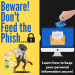 "INFO GRAPHIC: ""Don't feed the phish!"""