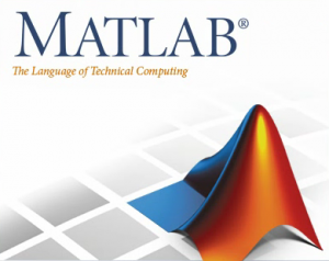 GRAPHIC: MATLAB software logo and tag line.