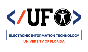 LOGO_2: Electronic Information Technology Accessibility at UF.