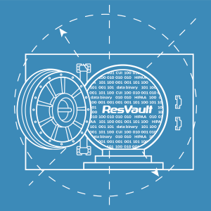GRAPHIC: Drawing of ResVault, UF's NIST- certified environment for securing restricted data for research.