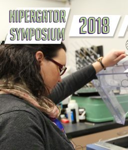 PHOTO: Cropped version of the 2018 HiPerGator Symposium poster.