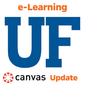 "LOGO: UF e-Learning ""Updates"" logo"