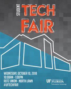 2018 Student Tech Fair Poster Image