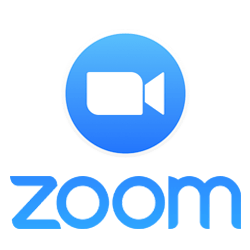 "GRAPHIC: Zoom Video Communications ""squared off"" logo."