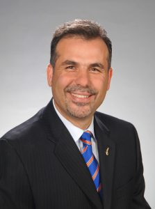 PHOTO: Headshot of VP and CIO Elias Eldayrie.