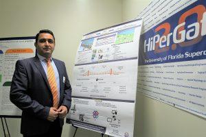 PHOTO: Alireza Adibfar, Ph.D. student in UF's M. E. Rinker, Sr. School of Construction Management