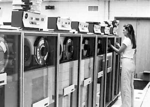 PHOTO: Mainframe computer at UF in 1971