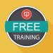 "Graphic with the words ""FREE TRAINING"""