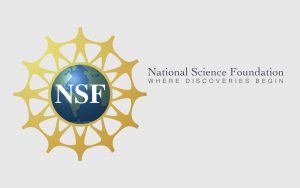 Large Wordmark and tag line for National Science Foundation (NSF)