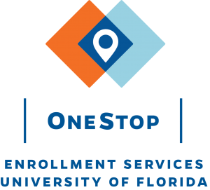 GRAPHIC: Logo for UF's OneStop Enrollment Services location