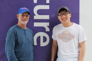 PHOTO: Prof. Emeritus Paul Zwick and Dr. Changjie Chen, UF Design, Construction, and Planning