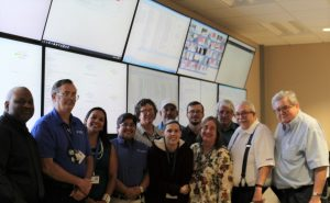 PHOTO: UF Data Center Operations Team on UF Mainframe Shutdown Day